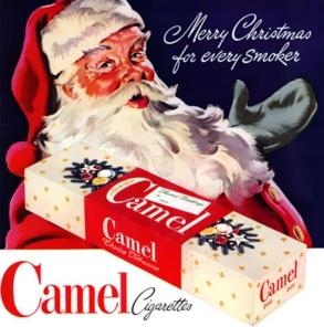 Père-Noël-Lucky-strike